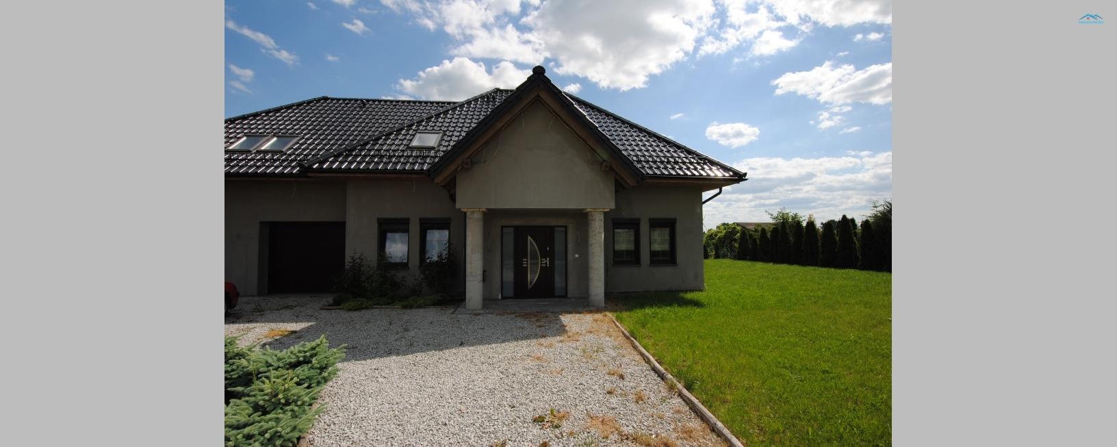 Piękny nowoczesny dom niedaleko miejscowości Pelplin